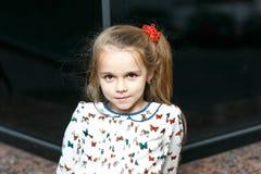 Милый портрет девушки Стоковые Изображения
