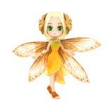 Милый представлять Мультяшки fairy Стоковые Изображения RF
