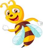 Милый представлять пчелы Стоковое Изображение
