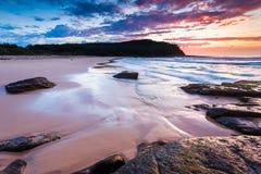 Милый пляж Новый Уэльс Австралия стоковая фотография rf
