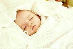 Милый спать младенца Стоковое фото RF