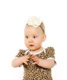 Милый 1-ти летний ребёнок Стоковые Фото