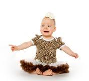 Милый 1-ти летний ребёнок Стоковое Изображение RF
