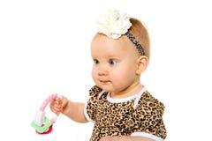 Милый 1-ти летний ребёнок Стоковое Изображение