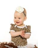 Милый 1-ти летний ребёнок Стоковые Изображения