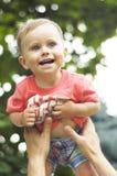 Милый усмехаясь малый мальчик стоковое изображение