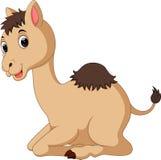 Милый шарж верблюда Стоковые Изображения RF