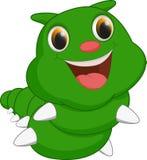 Милый шарж гусеницы Стоковое Фото