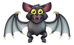 Милый шарж летучей мыши хеллоуина Стоковые Фото