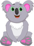 Милый шарж коалы Стоковые Фото