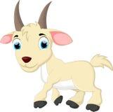 Милый шарж козы Стоковое фото RF