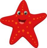Милый шарж морских звёзд Стоковые Фото