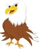 Милый шарж орла Стоковое фото RF