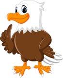 Милый шарж орла Стоковые Фотографии RF