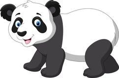 Милый шарж панды младенца иллюстрация штока