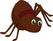 Милый шарж паука Стоковая Фотография
