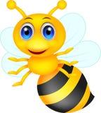 Милый шарж пчелы Стоковое Фото