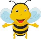 Милый шарж пчелы Стоковое фото RF