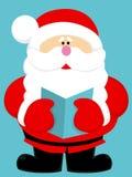 Милый шарж Санта Клаус Стоковые Изображения