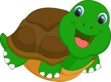Милый шарж черепахи Стоковые Фотографии RF