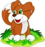 Милый шарж щенка Стоковые Фотографии RF