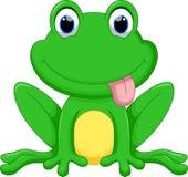 Милый шарж лягушки бесплатная иллюстрация