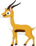 Милый шарж gazelle Стоковые Изображения RF
