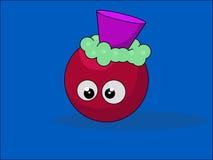 Милый шарик шаржа Стоковая Фотография RF