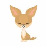 Милый Fox Fennec Стоковое Изображение