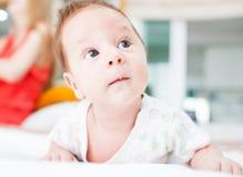 Милый newborn младенец Стоковое Изображение RF