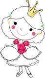 милый princess Стоковые Фотографии RF
