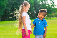 2 милых дет Стоковые Изображения