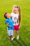 2 милых дет Стоковое Фото