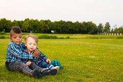 2 милых дет Стоковые Изображения RF