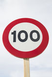 100 миль в час Стоковое Изображение