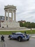1000 миль и военный мемориал Стоковое Изображение