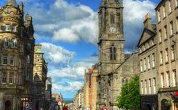 Миля Эдинбурга королевская Стоковое Фото