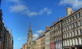 Миля Эдинбурга королевская Стоковое Изображение