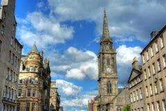 Миля Эдинбурга королевская Стоковые Фото