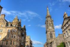 Миля Эдинбурга королевская Стоковые Изображения RF