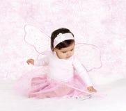 Младенец бабочки розовый Стоковое Изображение RF