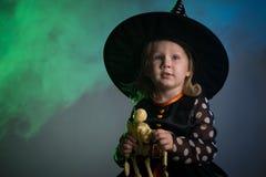 Младенец в костюмах хеллоуина, стоковые фото
