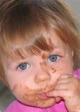 младенец грязный Стоковые Изображения RF