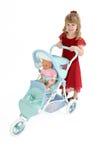 младенец - девушка куклы немногая Стоковое фото RF