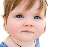 младенец довольно Стоковая Фотография