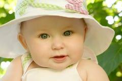 младенец довольно Стоковое Изображение