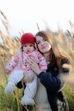 младенец ее детеныши мати Стоковые Изображения RF