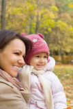 младенец ее природа мамы Стоковые Фотографии RF