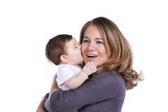 младенец ее сынок мати Стоковое Изображение