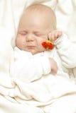 младенец жизнерадостный Стоковое Фото